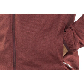 Kaikkialla M's Tarmo Wafflefleece Jacket Rust